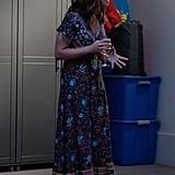 Judy's Floral Maxi Dress on Dead to Me