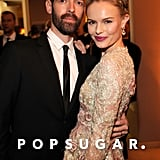 Kate Bosworth and fiancé Michael Polish attended Vanity Fair's Oscar afterparty together.