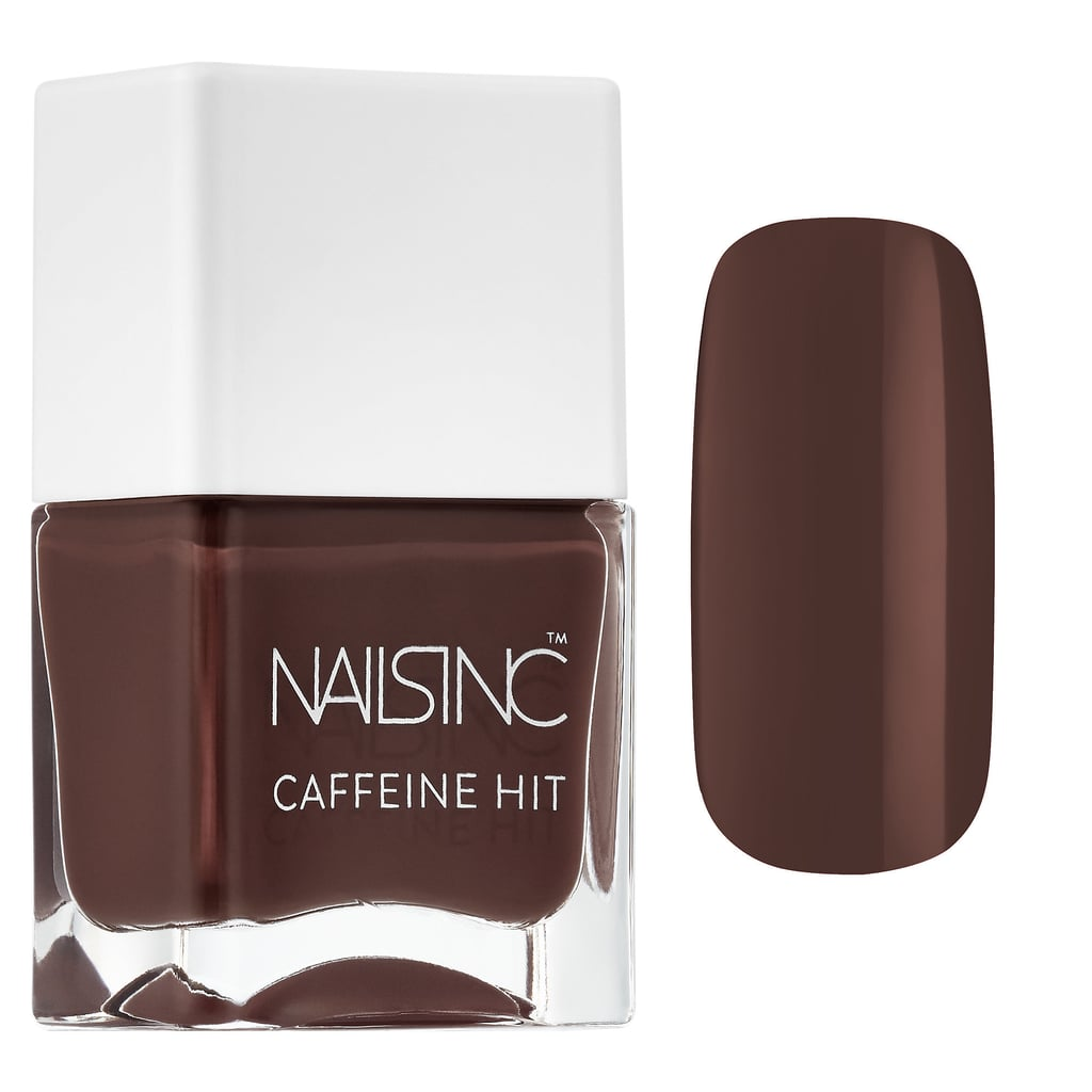 Nails Inc. Caffeine Hit Nail Polish Collection Afternoon Mocha