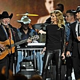 2012 — Willie Nelson, Faith Hill, and Tim McGraw