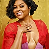 Taraji P. Henson at the Emmy Awards