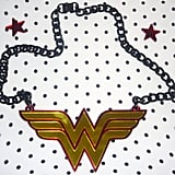 Wonder Woman Necklace And Star Earrings ($50)