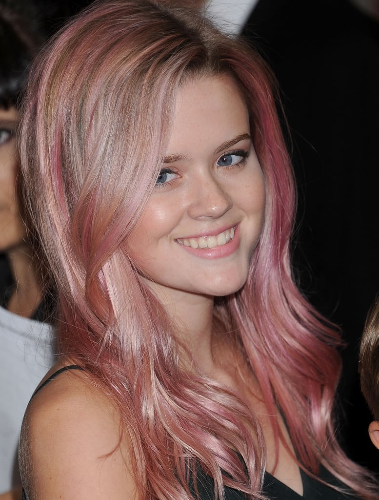 Ava Phillippe's Pink Hair Color Is a Great Throwback ...