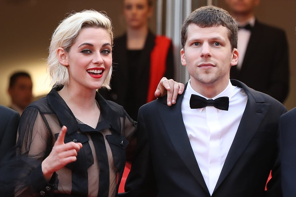 Pictured: Kristen Stewart and Jesse Eisenberg