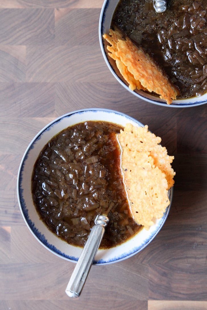 Vegetarian Slow Cooker French Onion Soup Classic Soup Recipes Popsugar Food Photo 5