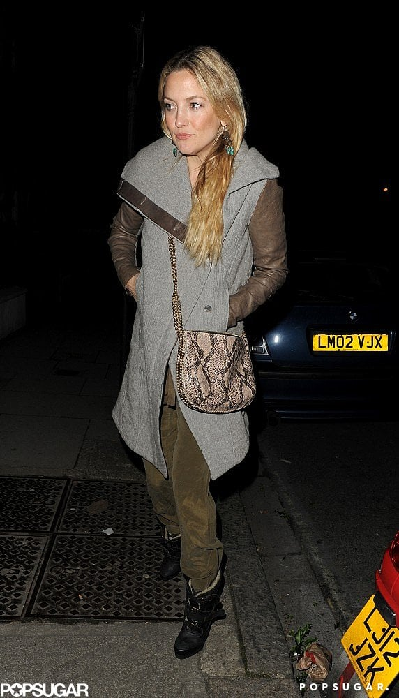 Kate Hudson attended the Muse show in London.
