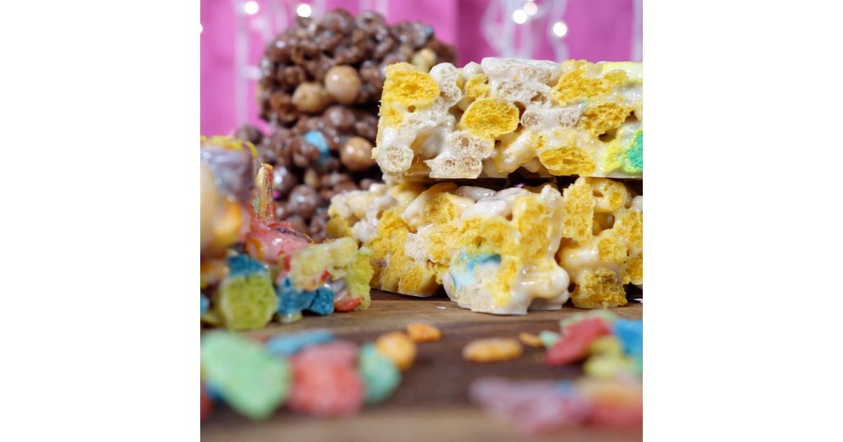 Marshmallow cereal treats recipe popsugar food ccuart Images