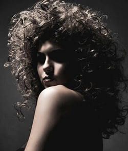 Catwalk Runway Hair Trend Big, Back-Combed Matte Hair Like Mischa Barton, Sarah Harding and Daisy Lowe.
