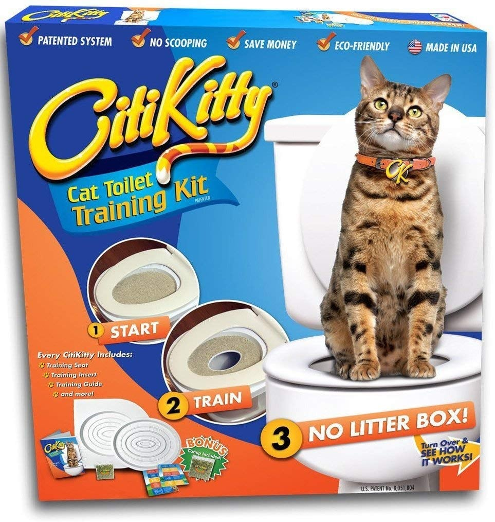 CitiKitty Cat Toilet Training Kit