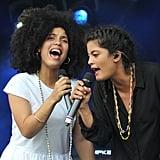 Lisa-Kaindé Diaz and Naomi Diaz of Ibeyi