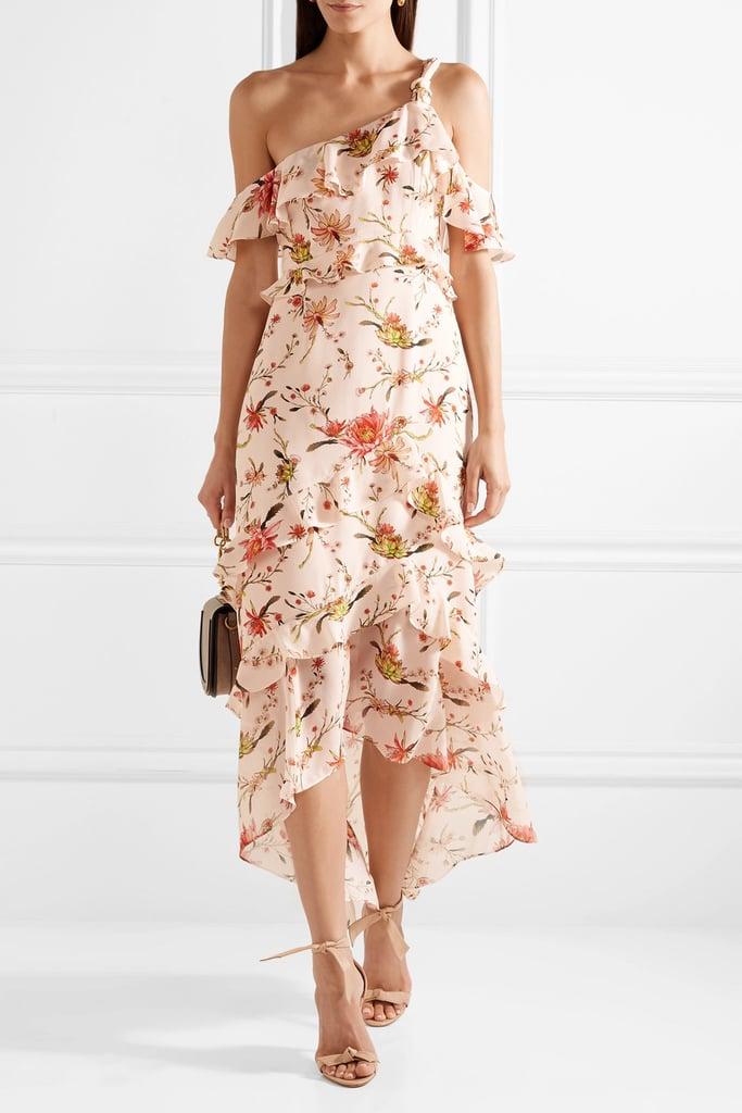 8bf5e2e27050 Rachel Zoe Jillian One-Shoulder Floral-Print Midi Dress