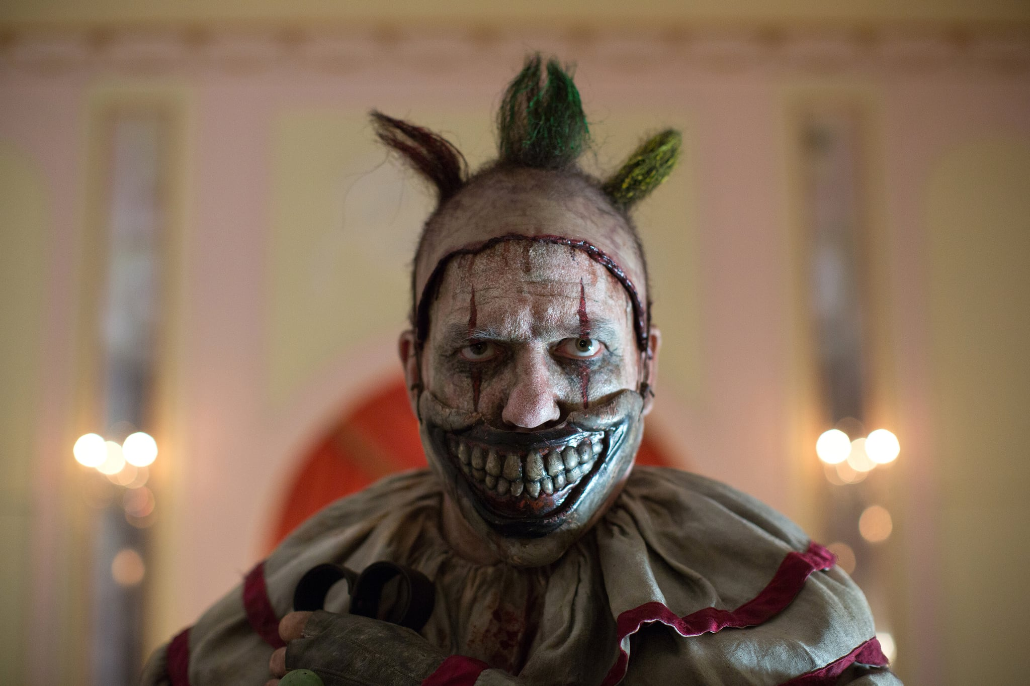AMERICAN HORROR STORY: FREAK SHOW, John Carroll Lynch in 'Massacres and Matinees' (Season 4, Episode 2, aired October 15, 2014). ph: Michele K. Short/FX/courtesy Everett Collection