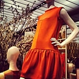 We spied a perfect cocktail dress at the Joe Fresh NYC flagship opening.
