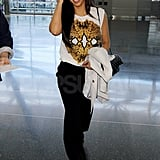 Kim Kardashian Back in LA Pictures