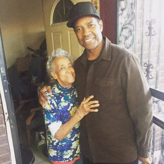 Denzel Washington Surprises Grandma in Chicago