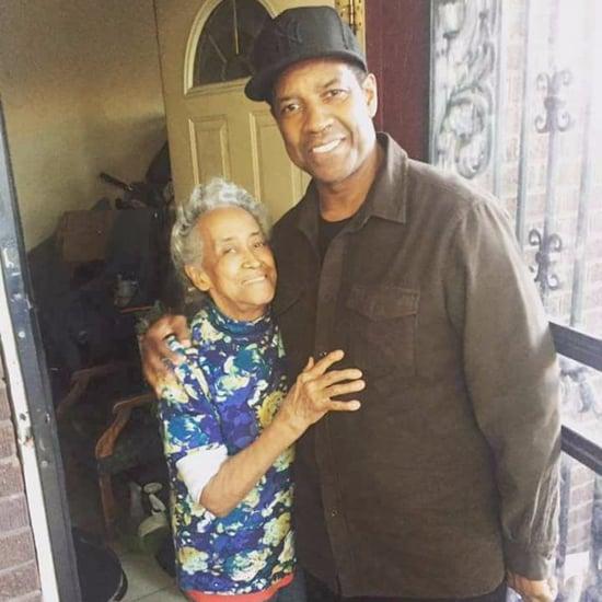 Denzel Washington Surprises Grandma in Chicago