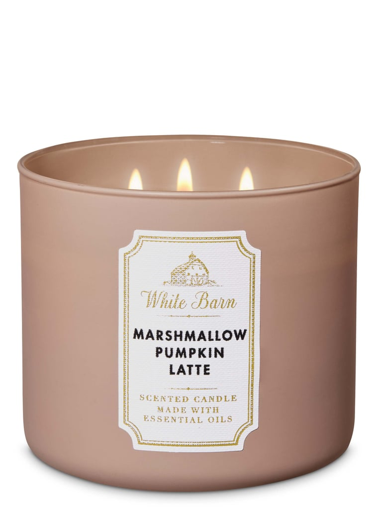 Bath and Body Works Marshmallow Pumpkin Latte 3-Wick Candle