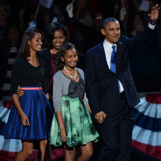 Sasha and Malia Obama's Election-Night Style