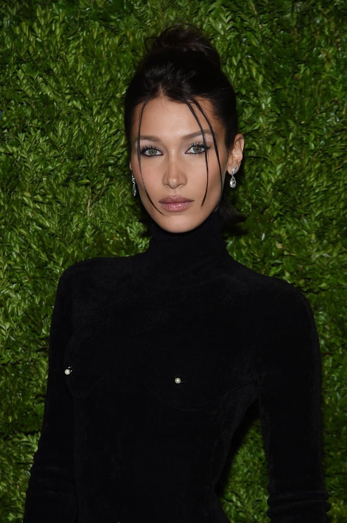 Bella Hadid's '90s-Inspired Updo