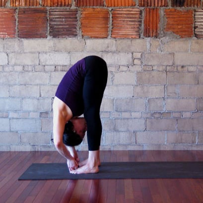 Tips For Standing Forward Bend