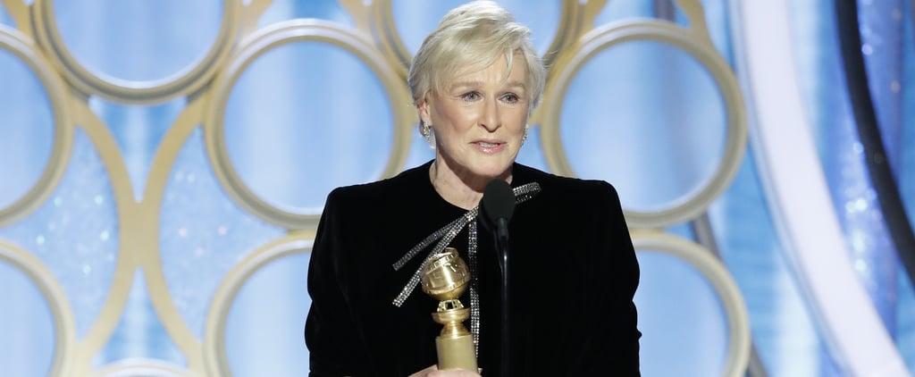 Glenn Close Acceptance Speech at 2019 Golden Globes Video
