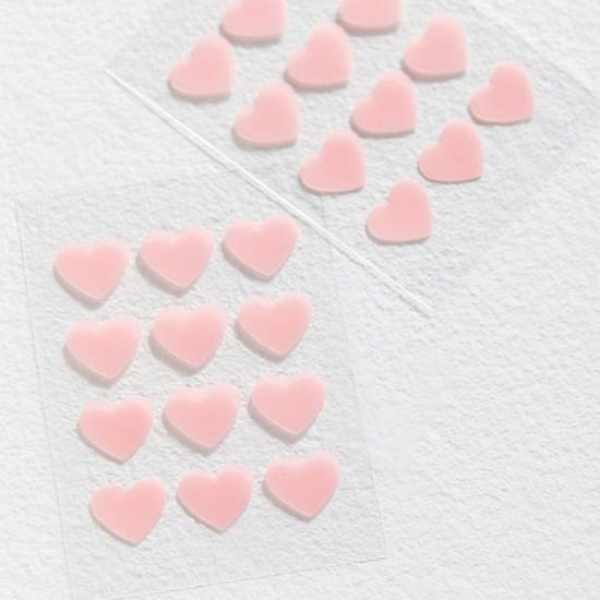 Truly Organic Heart-Shaped Acne Patches