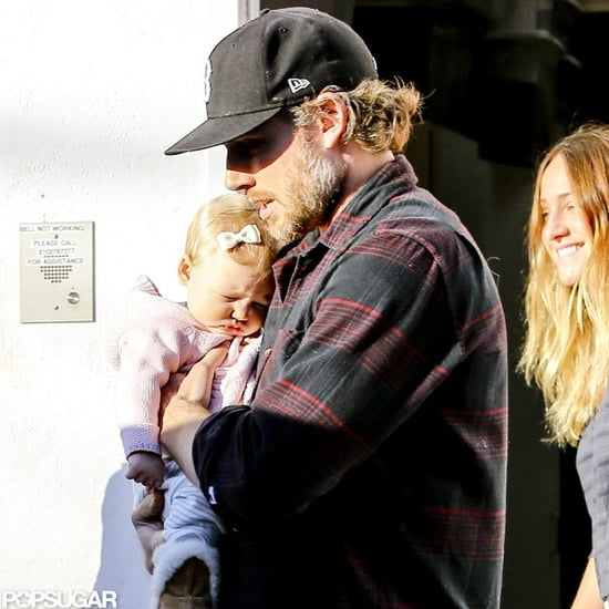 Eric Johnson Shops With Daughter Maxwell Johnson | Pictures