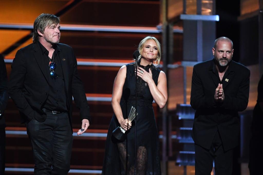 Blake Shelton and Gwen Stefani at ACM Awards 2018
