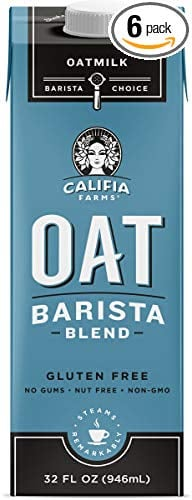 Califia Farms Unsweetened Oatmilk 6-Pack