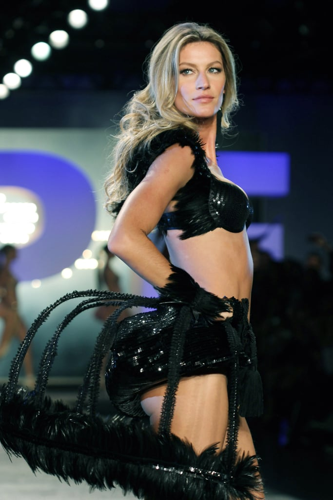 Gisele Bundchen Hits the Runway in Bras and Lingerie!
