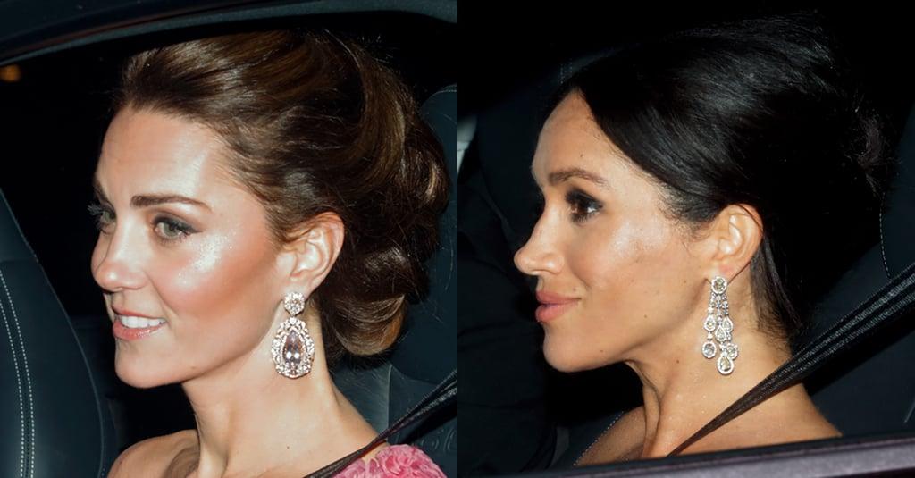 Meghan Markle and Kate Middleton Makeup Prince Charles 70th