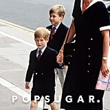 Princess Diana and Prince Harry Holding Hands Pictures
