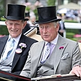 Alan Brooke, 3rd Viscount Brookeborough and Prince Charles