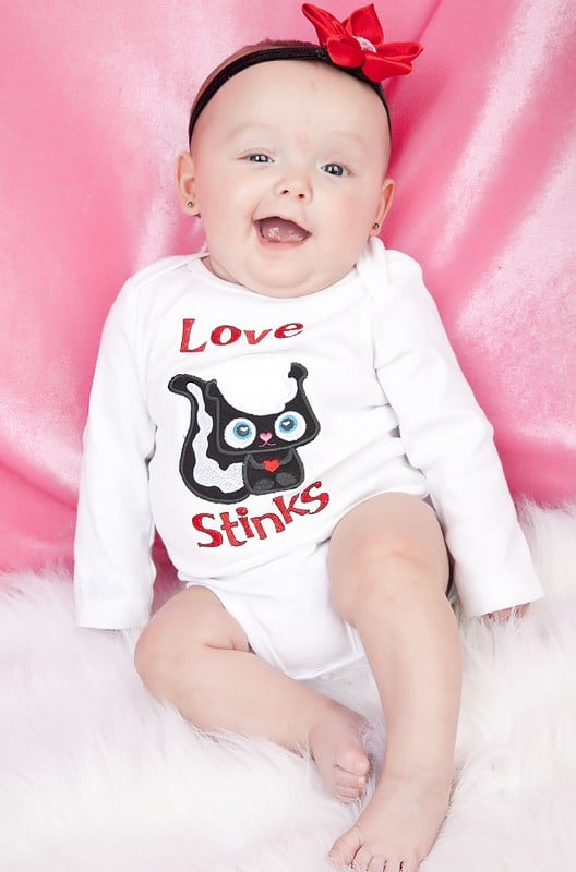 Love Stinks Onesie ($18)