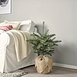 Vinterfest Small Artificial Indoor/Outdoor Christmas Tree Potted Plant