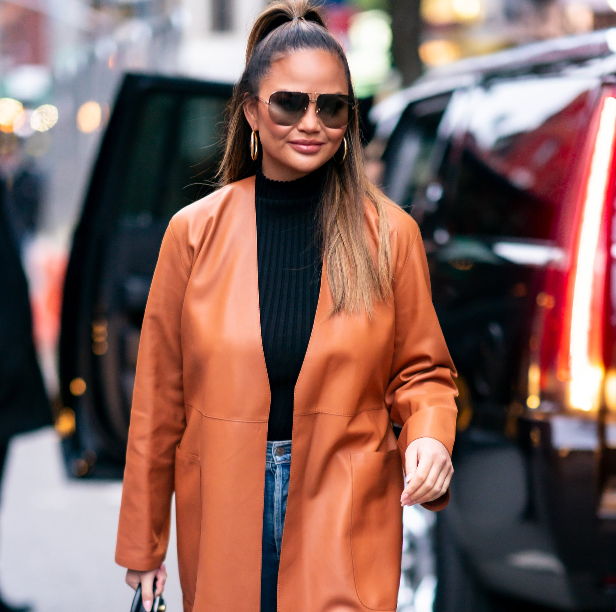 Chrissy Teigen Resells Her Clothing on The RealReal and Donates the Money to Charity