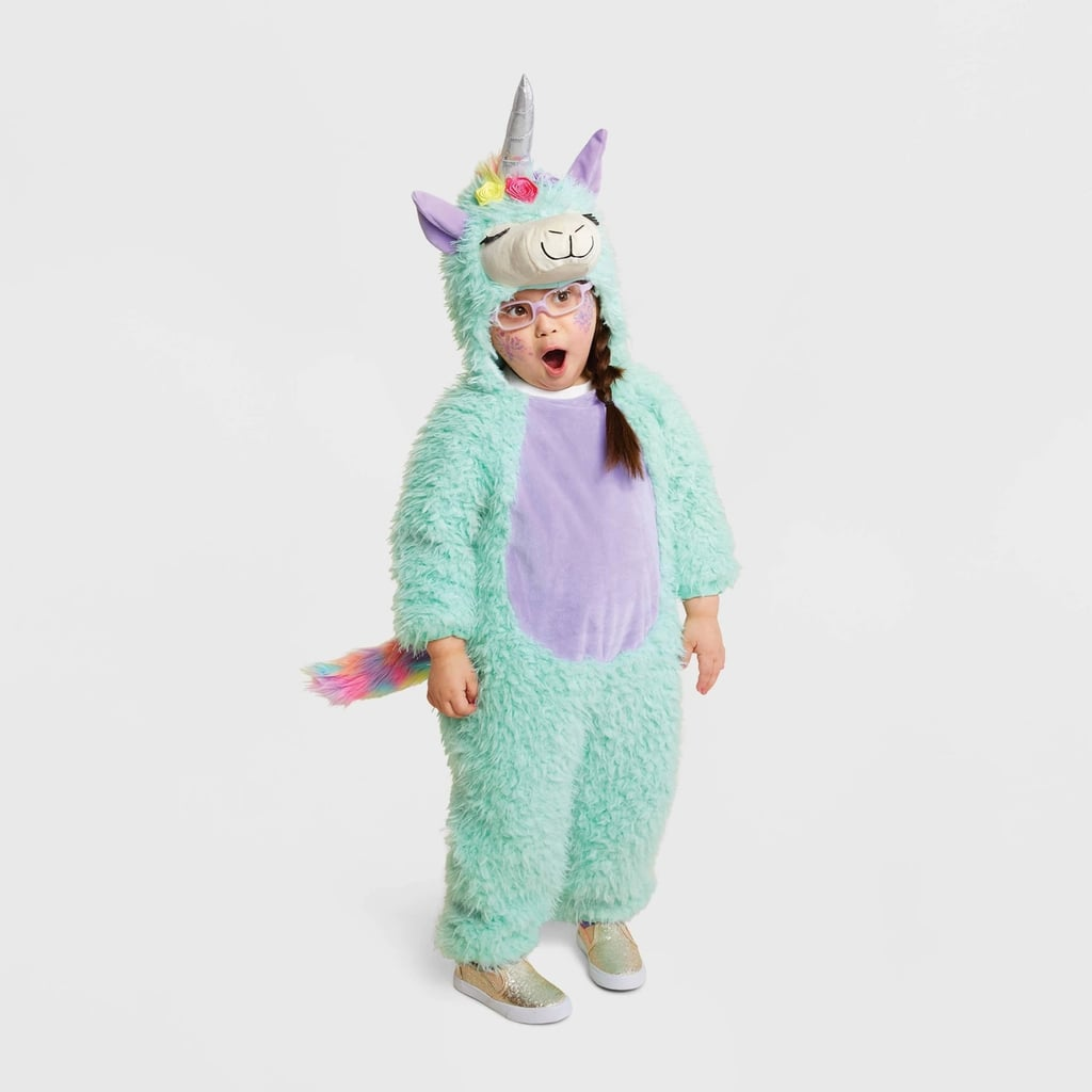 Toddler Plush Magical Llama Halloween Costume | Best Halloween