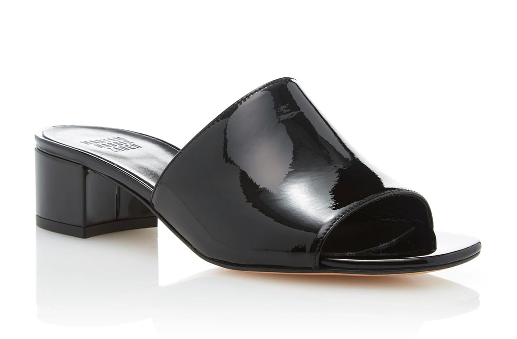 Maryam Nassir Zadeh Sophie Patent-Leather Slides