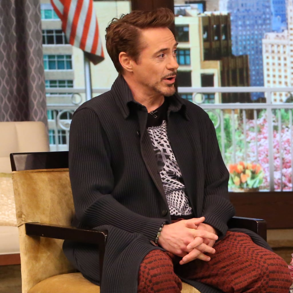 Robert Downey Jr showed the six-month-old daughter to the public 04/26/2015 56