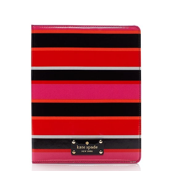 Kate Spade's striped iPad folio ($85) will give her favorite tech accessory a stylish upgrade.