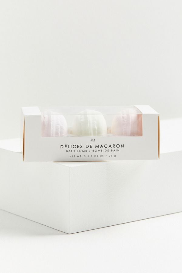 Gourmand Petite Macaron Bath Bomb Set