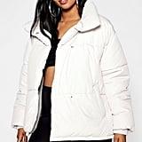 Boohoo Oversized Soft Puffer Jacket