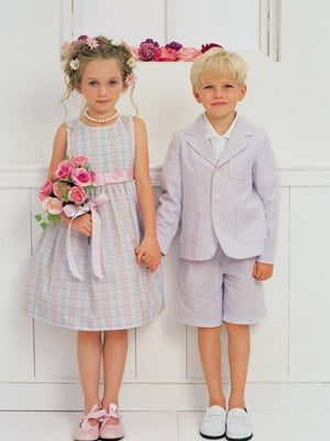 Toddler Attendant Outfits