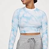 H&M x Justine Skye Short Patterned Top