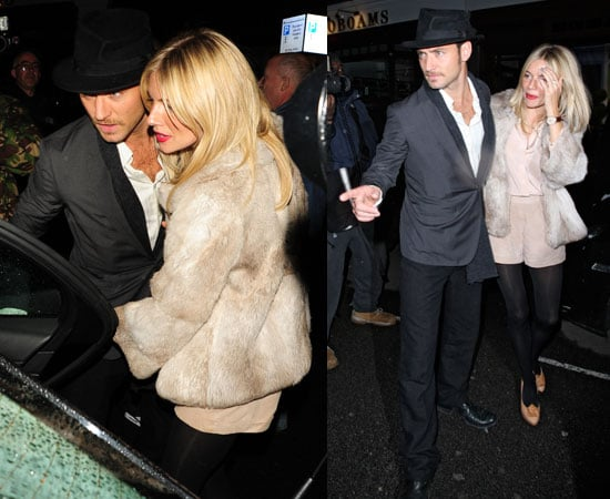 Pictures of Jude Law and Sienna Miller Together in London as Stephen Fry Joins Sherlock Holmes 2 Cast
