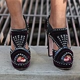 The embellishment gave these heels a little exotic flair.
