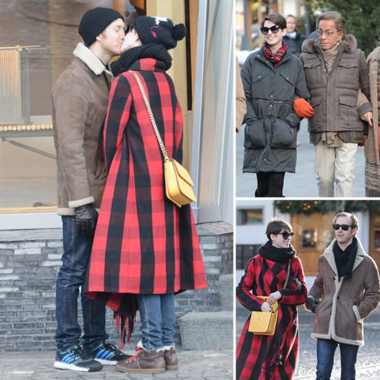 Anne Hathaway Engaged Celebrity Save The Dateanne: Anne Hathaway And Valentino's NYE In Gstaad