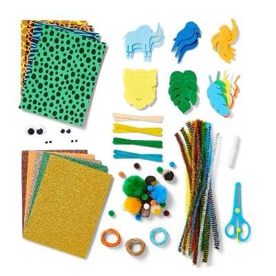 Mondo Llama 273pc Jungle Bucket of Crafts