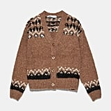 Zara Alpaca Blend Knit Cardigan