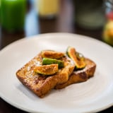 Whole Wheat French Toast With Agave Glazed Figs